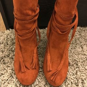Rust Color Boots